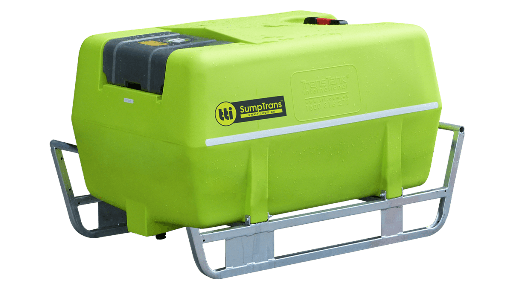400L SumpTrans™ Fully-Drainable Spray Tank (Low-Profile)