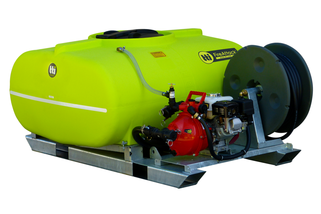 800L FireAttack™ Deluxe Slip On Skid Fire Fighting Unit