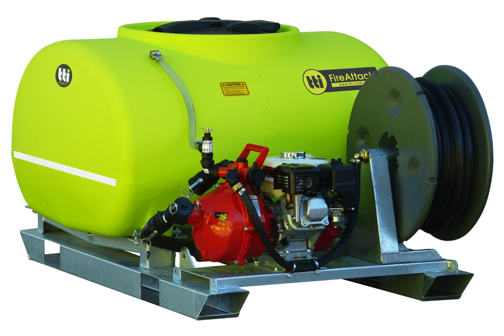 600L FireAttack™ Deluxe Slip On Skid Fire Fighting Unit