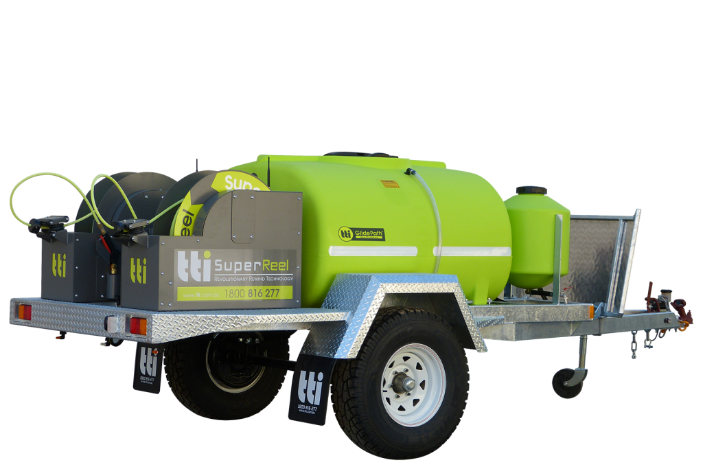 1000L SuperTrail™ Trailed Sprayer with SuperReel™